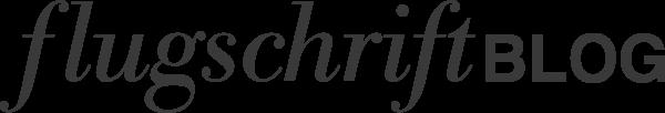 flugschrift blog